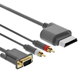 Importer520 Gold Plated 6ft Premium VGA Cable w/ Digital Opt
