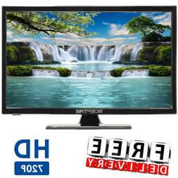 HD LED TV Sceptre 19 Class 720P  Small 169 Cabinet Home With