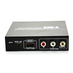 Generic HDMI TO CVBS AV/HDMI AUTO SCALER Support NTSC/ PAL H