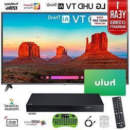 "LG 70"" 4K HDR Samrt LED AI UHD TV with ThinQ  with Bonus Blu"