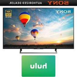 """Sony 43"""" 4K HDR UHD Smart LED TV  w/ Hulu $25 Gift Card"""