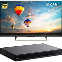 """Sony XBR43X800E 43"""" 4K HDR 16:9 Edge Lit LED UHD LCD TV with"""