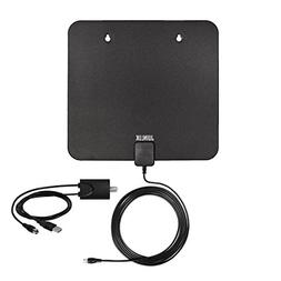 HDTV Antenna, TV Antenna for Digital TV Indoor, 60 Miles Ran