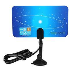 Dicesnow Digital Indoor Television Antenna Box Ready HD UHF/