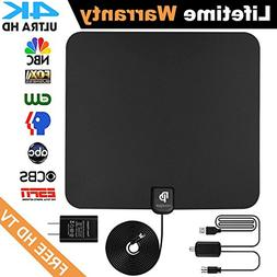 novopal  Indoor HD Digital TV Antenna | 60~80 Miles Long Ran