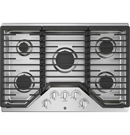 GE JGP5030SLSS, 30 Inch Natural Gas Sealed Burner Style Cook