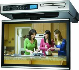 """Venturer KLV3915 15.4"""" Undercabinet Kitchen LCD TV with DVD"""