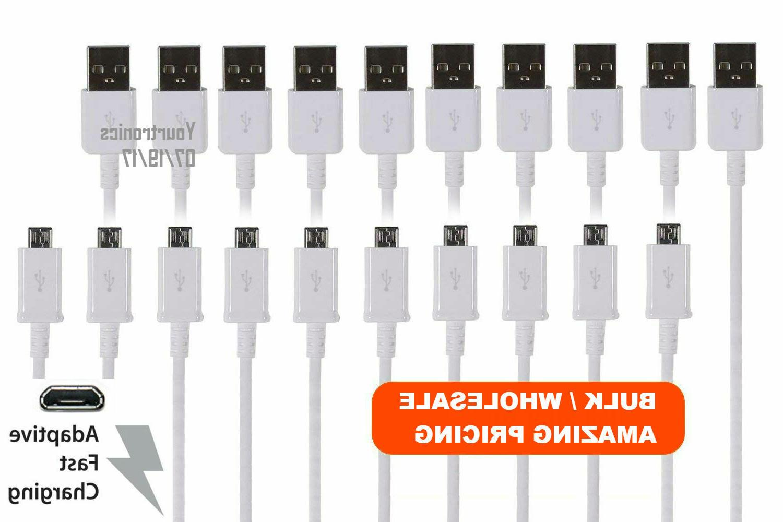 10x oem adaptive fast charging micro usb