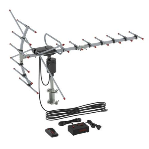 480 HDTV Outdoor Amplified Antenna TV Directional UHF/VHF