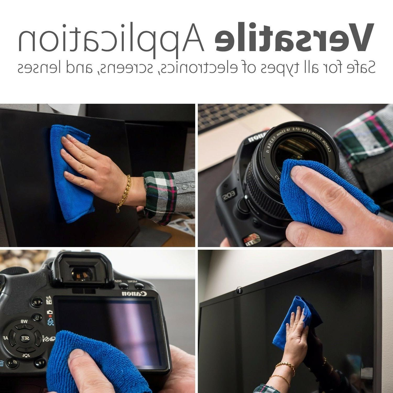 2x Screen Cleaner Cloth Camera
