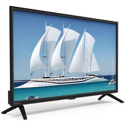 """32"""" HD LED TV Flat x HDMI & x USB"""