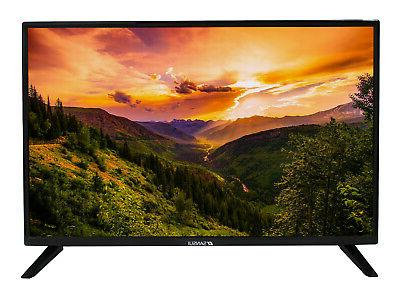 "32"" Inch HD LED TV Flat Screen 3 x HDMI & 1 x USB Wall Mount"