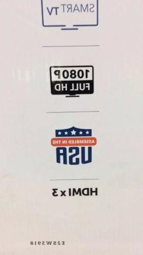 """Element 39"""" HD Smart TV Model E2sw3918 Brand Box"""