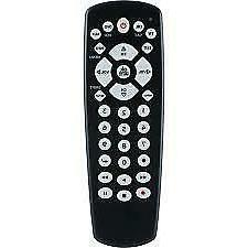 4 device universal remote receiver tv dvd