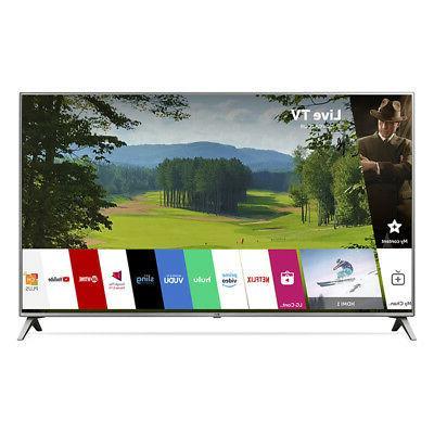 "LG 43"" 4K HDR Smart LED UHD TV 43UK6500AUA"