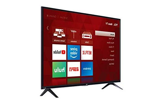 TCL 43S325 43 Inch 1080p Smart LED Roku TV