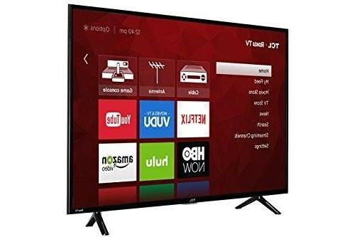 "TCL 43"" UHD HDR LED TV"