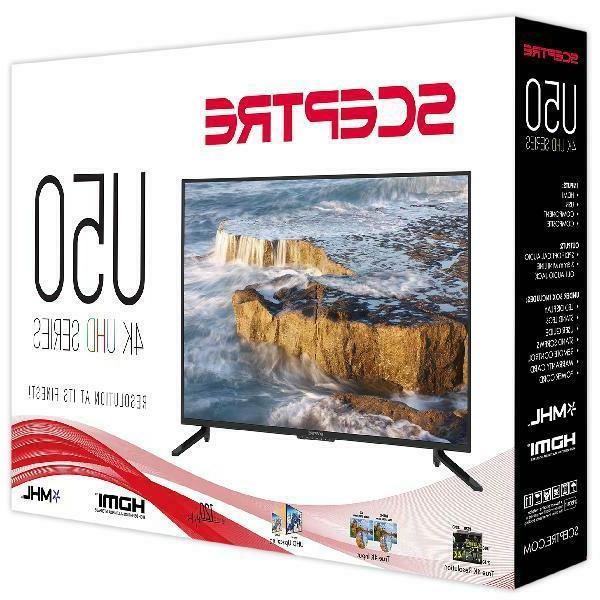 "50"" Inch Class 4K UHD LED TV HDR U515CV-U  - Sceptre"