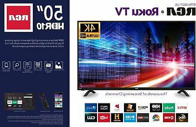 RCA 50 Ultra Smart LED TV