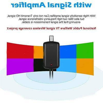 5000 Range HDTV Antenna Digital TV Amplifier USA