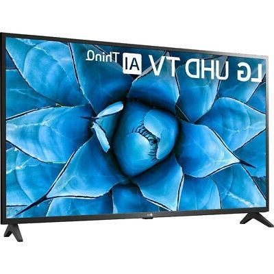 "LG 50UN7300 50"" UHD ThinQ Smart TV w/ Alexa & HDMI"