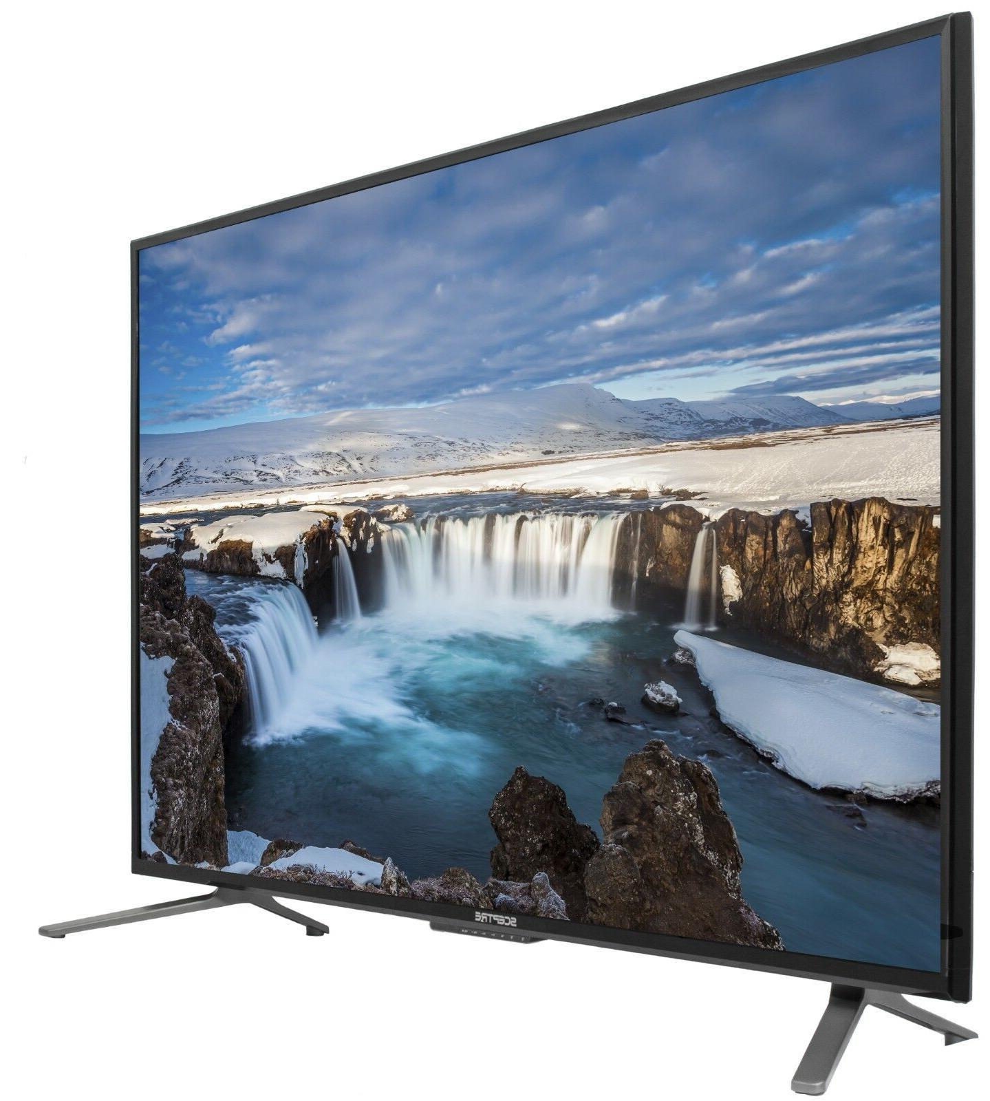 "55"" 4K Ultra HD LED TV HDTV  Slim Flat Screen 2160p UHD Scep"