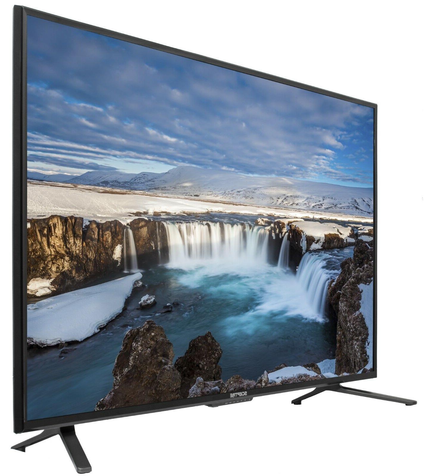"55"" 4K HD LED Flat Screen 2160p UHD Sceptre"
