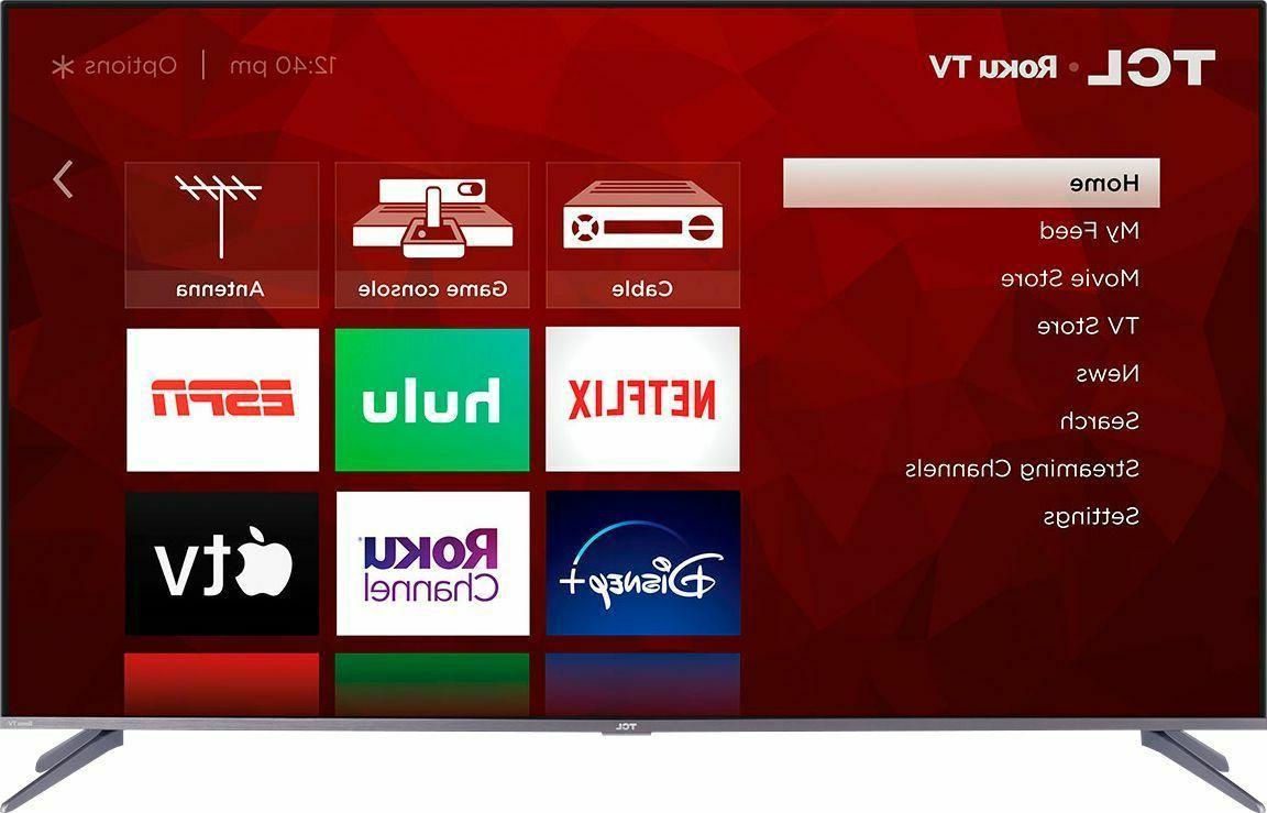 QLED Dolby Vision Smart Roku TV