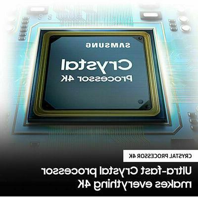 Samsung Crystal UHD HDR TV -