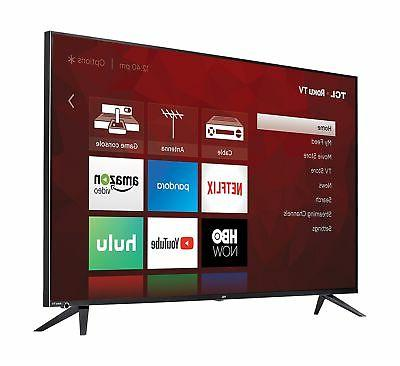 TCL 55R617 55-Inch Ultra LED inches