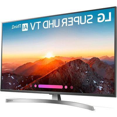 LG 4K Smart UHD w/ AI ThinQ