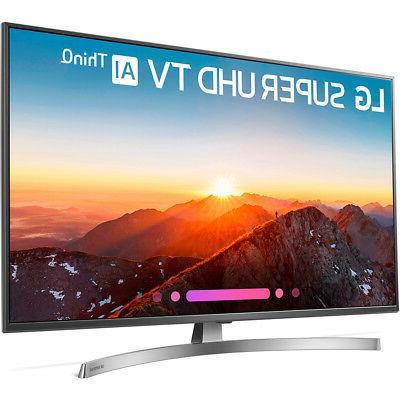 LG 4K HD Smart w/ Google Assistant & Alexa, HDMI, Wi-Fi