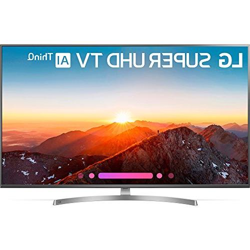 LG 65SK8000PUA 4K Super TV w/ThinQ with Home Speakers