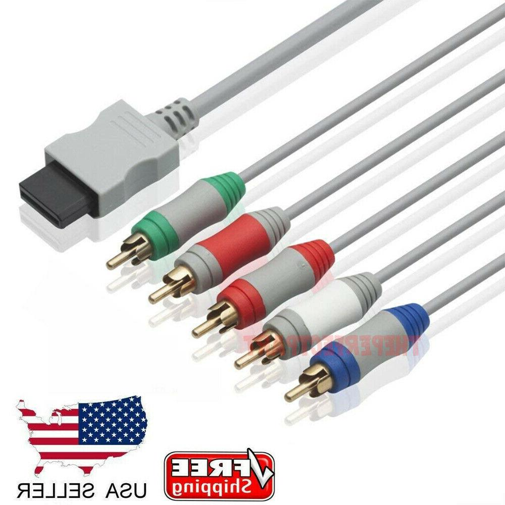6FT HD TV Component RCA Audio Video AV Cable Cord Plug for N