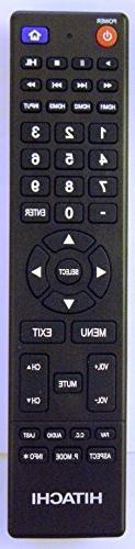 Hitachi 850125633 TV Remote Control