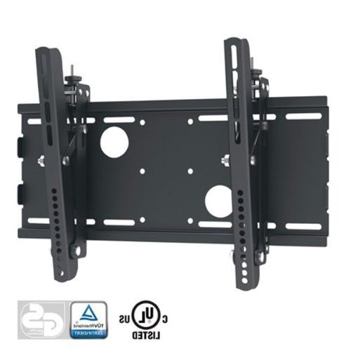 Black Adjustable Tilt/Tilting Wall Mount Bracket for TCL 32S