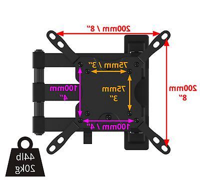 Full Motion TV mount. Tilt,swivel 37 LED LCD Flat Screen