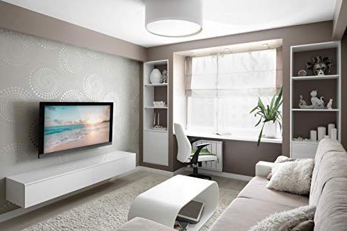 Mount-It Wall Bracket for 32-60 OLED, 4K or Flat 175 600x400 , Black,