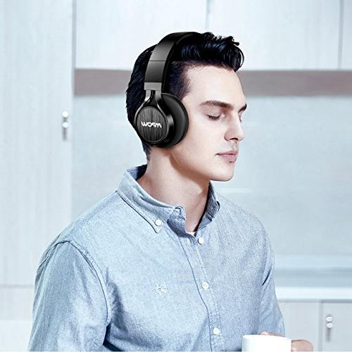 Mpow Thor On Ear, Wireless Foldable Mic, Wireless Headphones for Cell