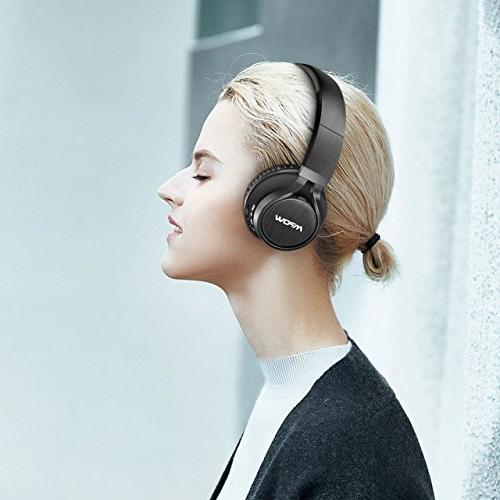 Mpow On Ear, Wireless Headset Mic, Headphones for Cell
