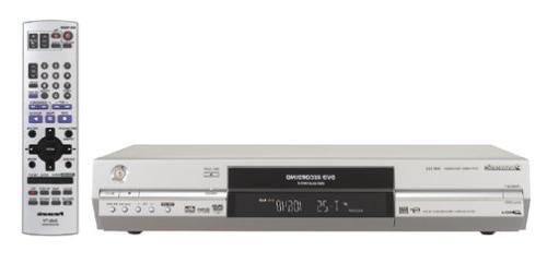 Panasonic DMR-E55S Progressive Scan DVD Recorder/Player, Sil