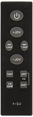 Philip Shaw VizioSB 6114 Universal Sound Bar Remote Control