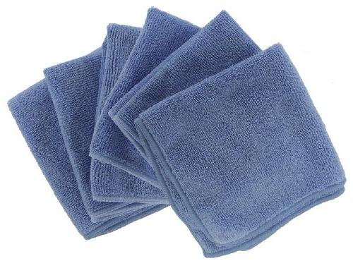 Shaxon Ultra Absorbent Microfiber Cleaning Cloths, 6 Pack, B