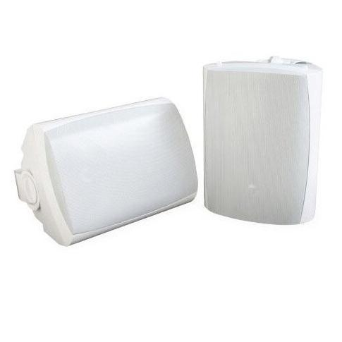 SB-AW-6-WHT SunBriteTV All-Weather 6.5 Wall or Ceiling Mount Wired Outdoor Speaker Pair White