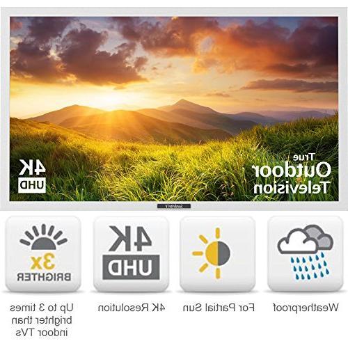 "Sunbritetv - 43"" - Led - Outdoor - 2160p Ultra Hd - White"