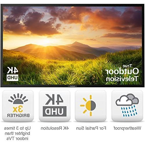SunBriteTV 4K TV - SB-S-75-4K-BL Black