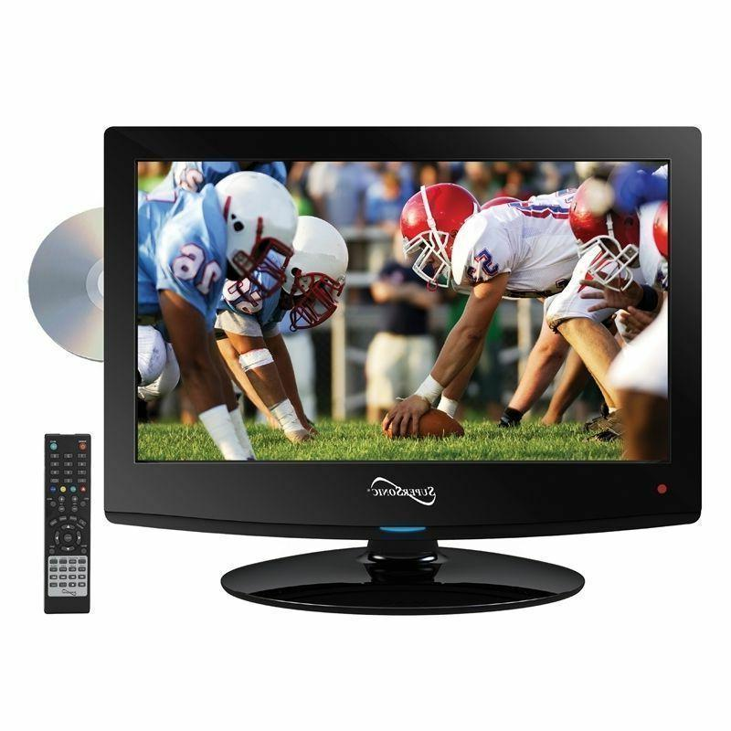Supersonic 15 inch 12V AC/DC HD LED LCD TV Television W/ DVD