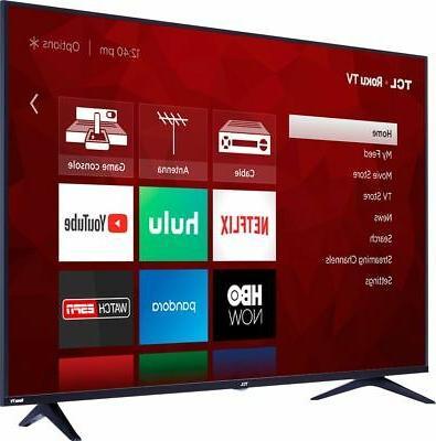 """TCL - 43"""" - LED Series - Smart TV TV"""