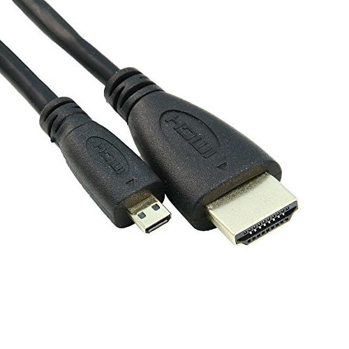 TacPower Micro HDMI to HDMI Cable Lead For GE E1410SW G100 X