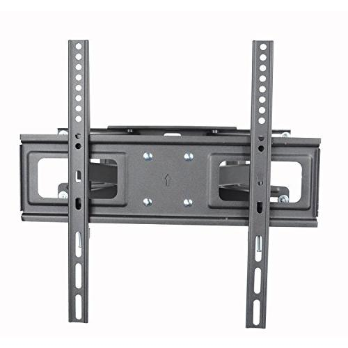 """VideoSecu MW340B2 TV Mount 32-65 LED, OLED Plasma Flat Screen TV, with Full Motion Tilt Swivel Articulating Dual Arms 14"""" Extend, up to LBS"""